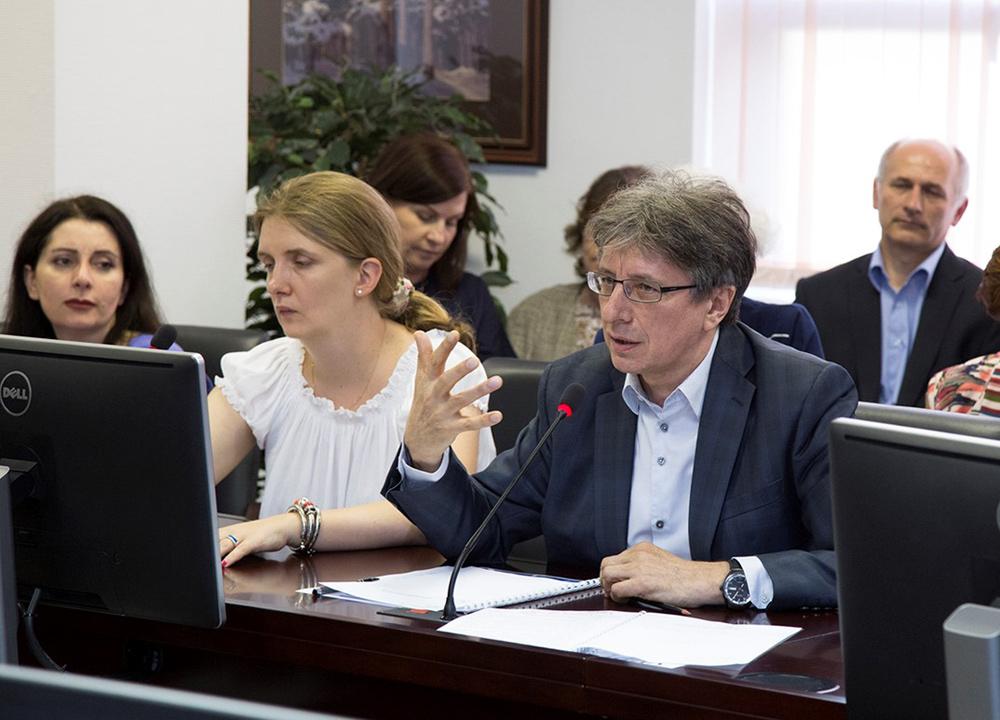 Открытое заседание президиума и общее собрание членов НАСДОБР в РАНХиГС Фото 3