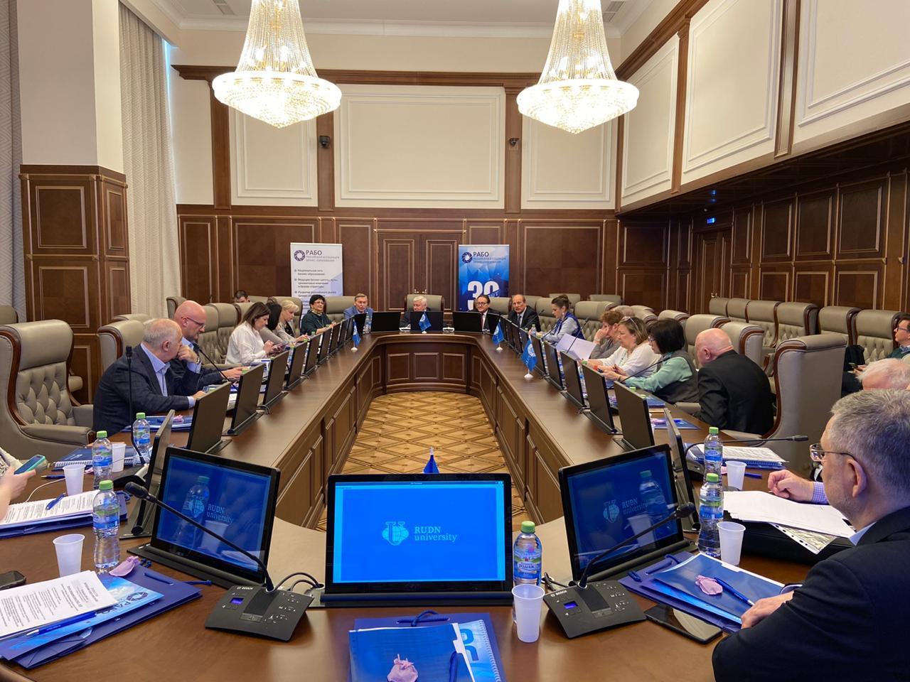 Заседание совета РАБО-2020 фото 2