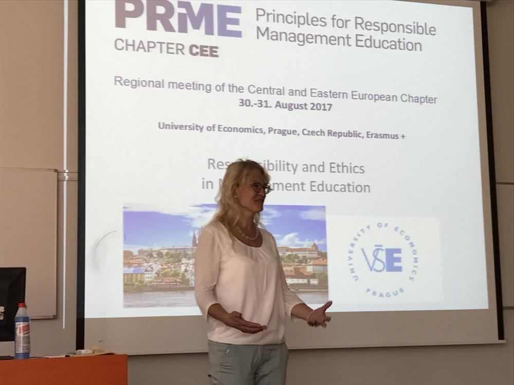 Заседание регионального Совета PRiME по Центральной и Восточной Европе и семинар Responsibility and Ethics in Management  Education Фото 2