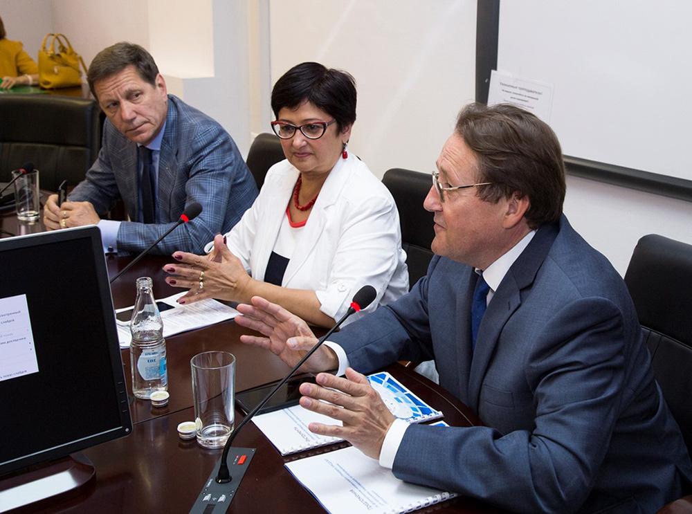 Открытое заседание президиума и общее собрание членов НАСДОБР в РАНХиГС Фото 1