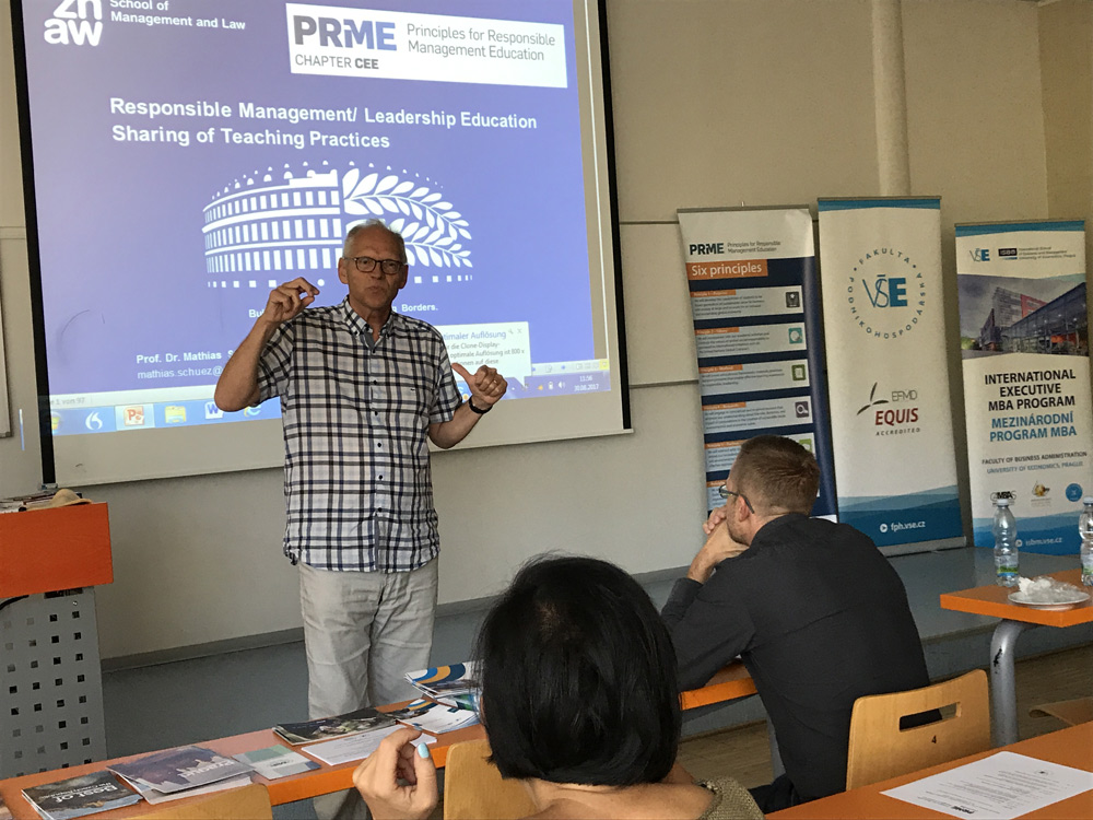Заседание регионального Совета PRiME по Центральной и Восточной Европе и семинар Responsibility and Ethics in Management  Education Фото 4