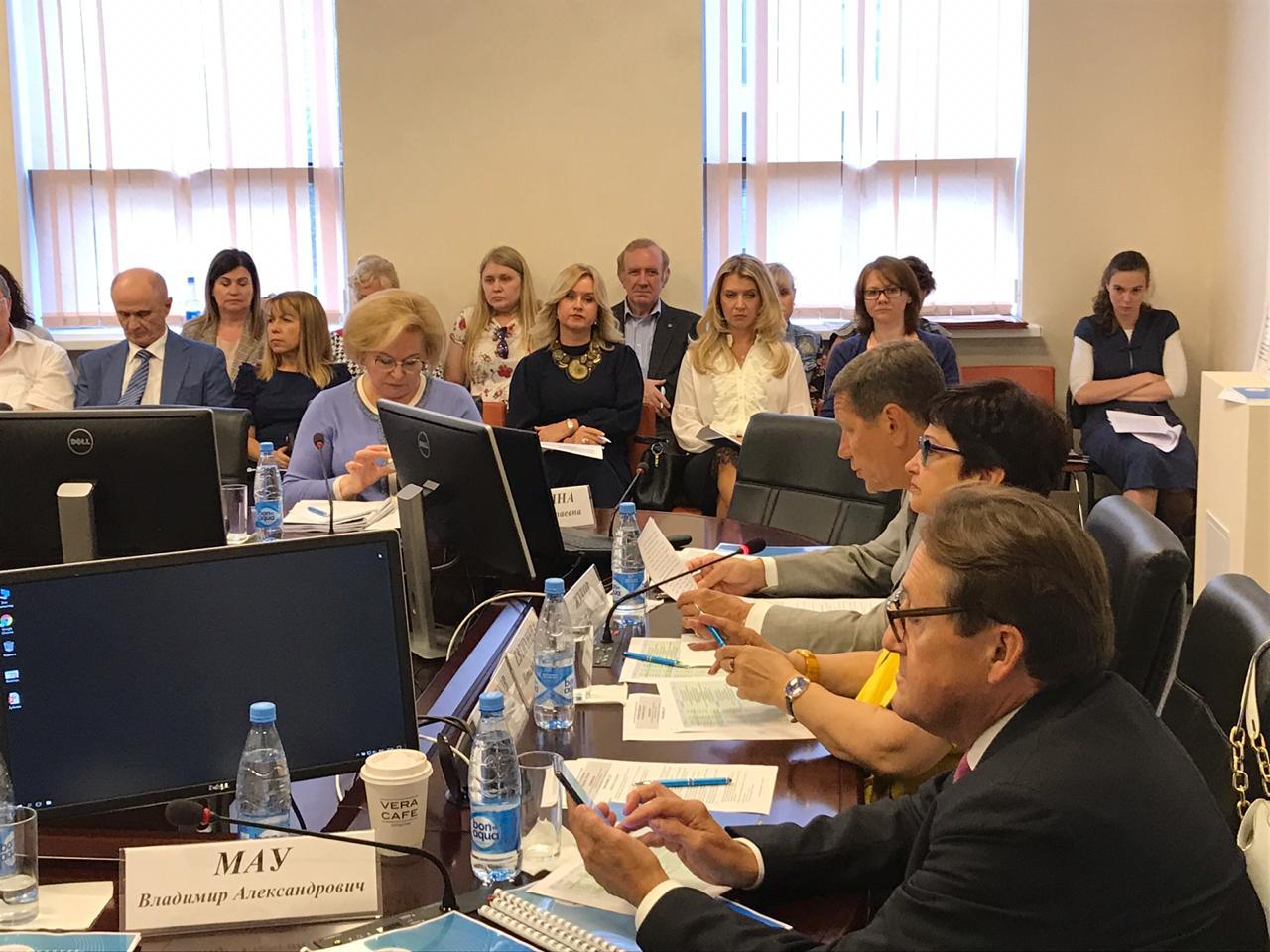 Заседание Президиума НАСДОБР фото 3